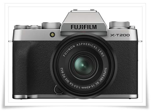 Fujifilm X-T200 24.2 MP Mirrorless Camera with XC 15-45 mm Lens - best dslr under 60000, best dslr camera under 60000, best dslr camera under 60000 in 2020