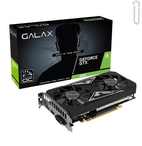 Galax GeForce GTX 1650 EX-1 Click OC Plus 4GB GDDR6 Graphic Card - best graphics card under 20000, best graphics card under 20000 2020, best graphics card under rs 20000