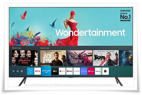 Samsung 55 Inches UA55TUE60AKXXL Wondertainment Series Ultra HD LED Smart TV