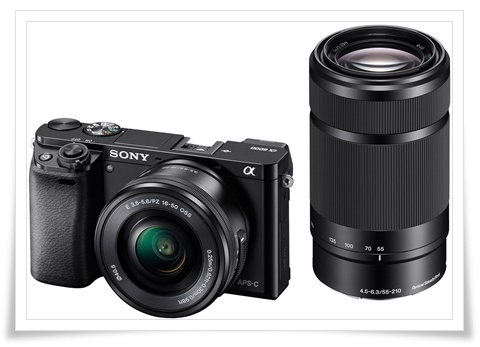 Sony Alpha ILCE 6000Y 24.3 MP Mirrorless Camera with 16-50 mm and 55-210 mm Zoom Lenses - best dslr under 60000, best dslr camera under 60000, best dslr camera under 60000 in 2020