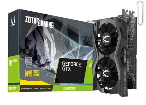 ZOTAC GeForce GTX 1650 4GB GDDR6 128-bit Super Compact Gaming Graphics Card - best graphics card under 20000, best graphics card under 20000 2020, best graphics card under rs 20000
