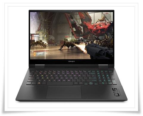 HP Omen 10th Gen Intel Core i7 Processor 15.6-inch FHD Gaming Laptop - best laptop under 150000, best gaming laptop under 150000
