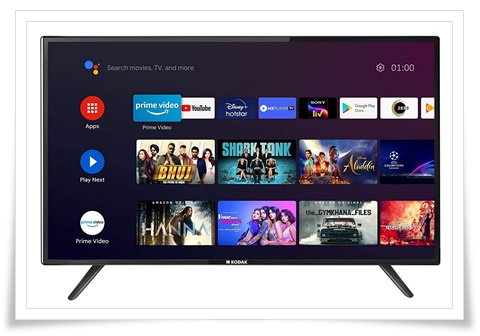 Kodak 50 Inches 50UHDX7XPRO 4K Ultra HD Certified Android LED TV