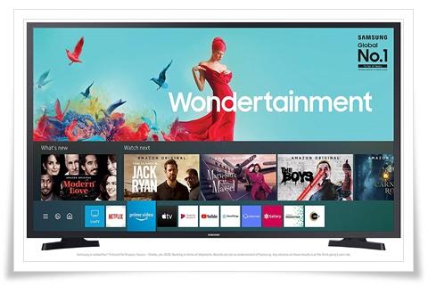 Samsung 43 Inches UA43TE50AAKXXL Wondertainment Series Full HD LED Smart TV