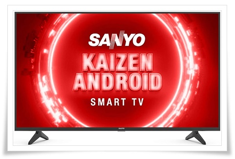 Sanyo 43 inches XT-43UHD4S Kaizen Series 4K Ultra HD Certified Android LED TV