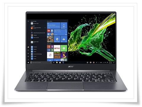Acer Swift 3 10th Gen Core i5 SF314-57 14-inch Ultra Thin and Light Laptop