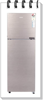 Haier 258 L 3 Star HEF-25TDS Inverter Frost-Free Double Door Refrigerator
