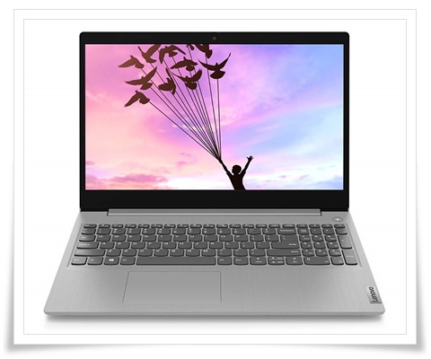Lenovo IdeaPad Slim 3i 81WE00RVIN Intel Core i3 10th Gen 15.6-Inch FHD Thin and Light Laptop