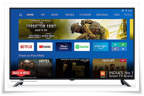 Mi LED TV 4X 50-Inch 4K Ultra HD Android TV