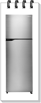 Panasonic 336 L 3 Star NR-MBG34VSS3 6-Stage Inverter Frost-Free Double Door Refrigerator