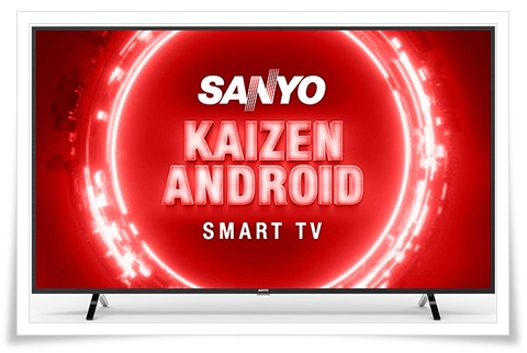 Sanyo 55 inches XT-55UHD4S Kaizen Series 4K Ultra HD Certified Android LED TV