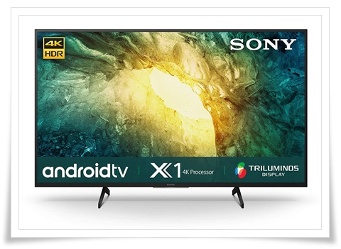 Sony Bravia 49 inches 49X7500H 4K Ultra HD Certified Android LED TV