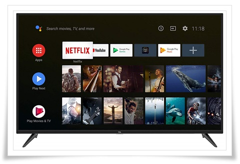TCL 65 inches 65P8S AI 4K Ultra HD Certified Android Smart LED TV