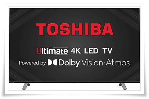 TOSHIBA 55 inches TV 55U5050 Vidaa OS Series 4K Ultra HD Smart LED