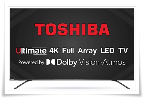 TOSHIBA 65 inches 65U7980 Vidaa OS Series 4K Ultra HD Smart LED TV