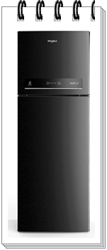 Whirlpool 265 L 3 Star INTELLIFRESH INV CNV 278 3S Inverter Frost-Free Double Door Refrigerator