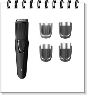 Philips BT1215-15 USB Cordless Beard Trimmer - best trimmer under 1500 in 2021, best trimmer under 1500, best trimmer under 1500 rs