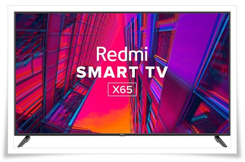 Redmi 65 inches X65 L65M6-RA 4K Ultra HD Android Smart LED TV