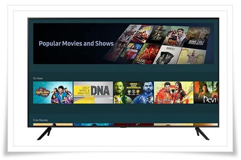 Samsung 50 inches UA50AUE70AKLXL Crystal 4K Pro Series Ultra HD Smart LED TV