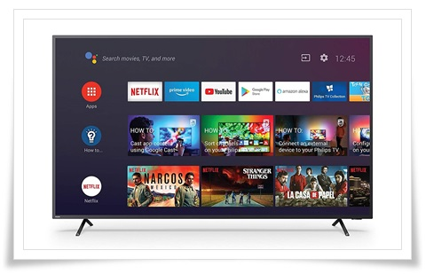 Philips 55 Inches 55PUT8215-94 4K UHD LED Android Smart TV